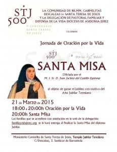 Cartel Jubileo Sanlúcar 21032015