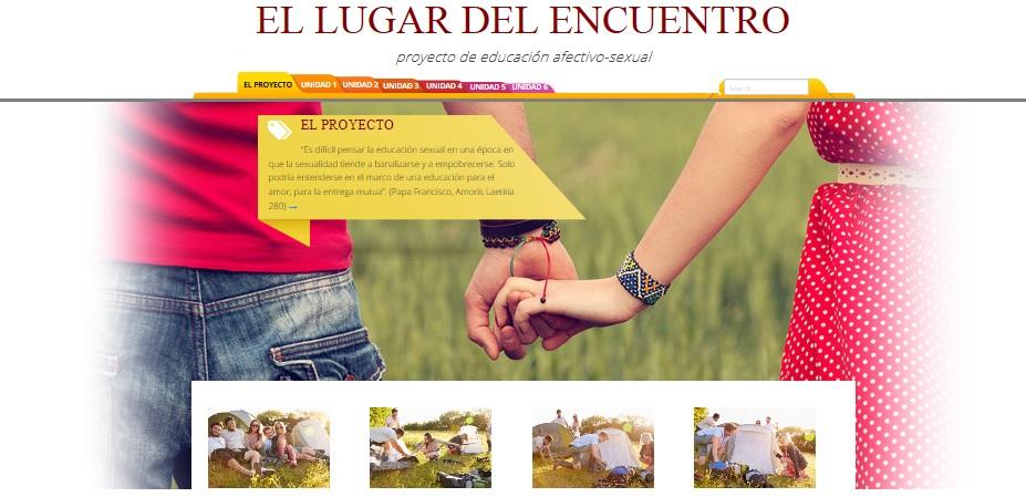 """Proyecto de educación afectivo sexual para jóvenes """"ELDE"""""""